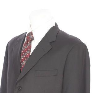 Brooks Brothers Madison Solid Black Sport Coat